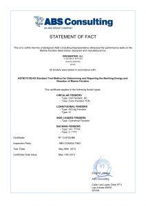 ASTM fenders