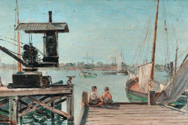 Domingo Laporte - Antiguo Puerto de Montevideo