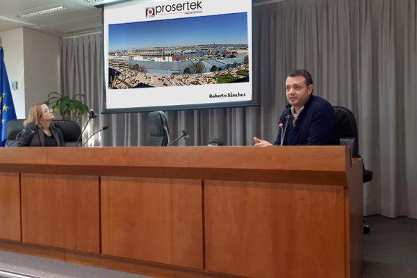 "Prosertek at the ""Experiences and new developments in port equipment"""