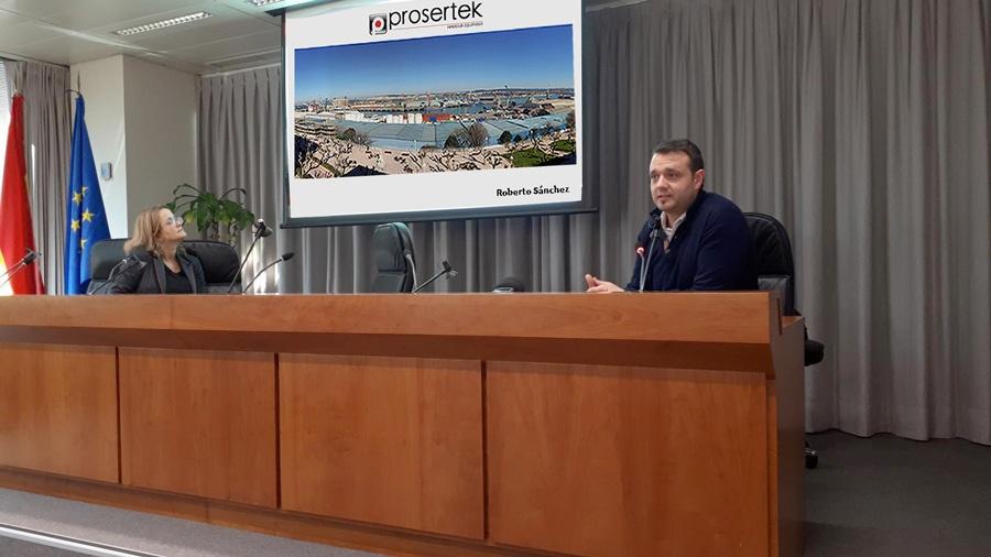 """Prosertek en la jornada """"Experiencias y nuevos desarrollos en equipamiento portuario"""""""