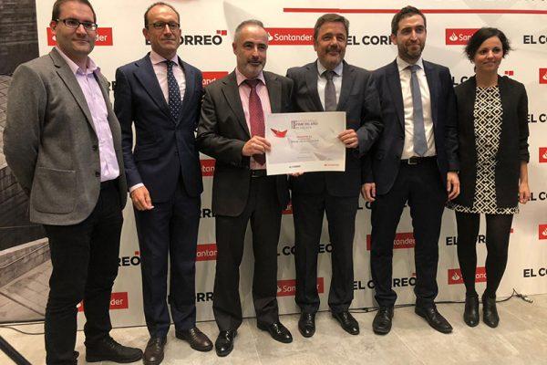 Prosertek recibe el reconocimiento a Mejor PYME 2018