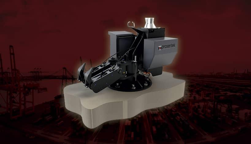 Quick-Release Hooks for mooring systems. Prosertek