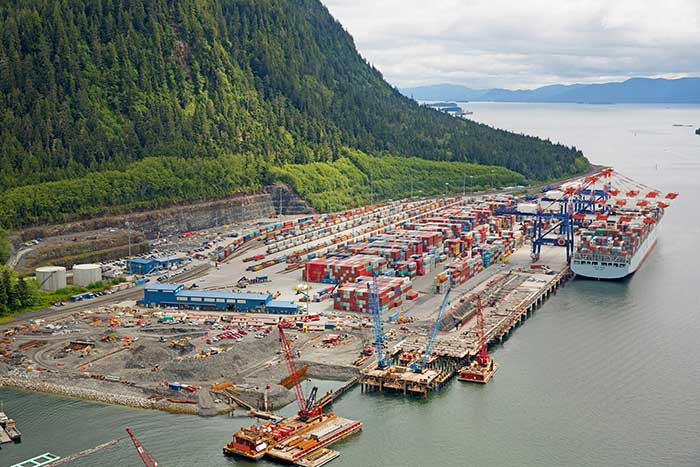Canadian ports expansion