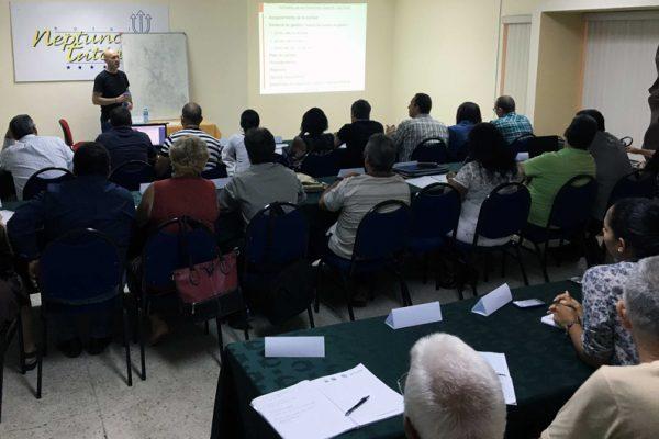 Curso de Técnico Internacional de Equipos Marítimos en Cuba