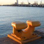 double-P-bollard-at-Valencias-harbour-prosertek