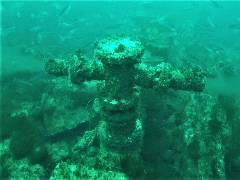 Inspección de emisario submarino