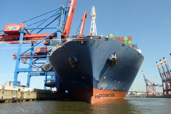 New port requirements for mega container ships