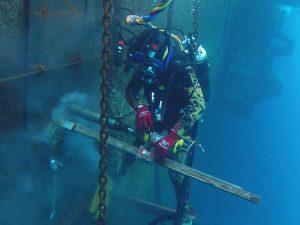 Servicios de mantenimiento subacuático