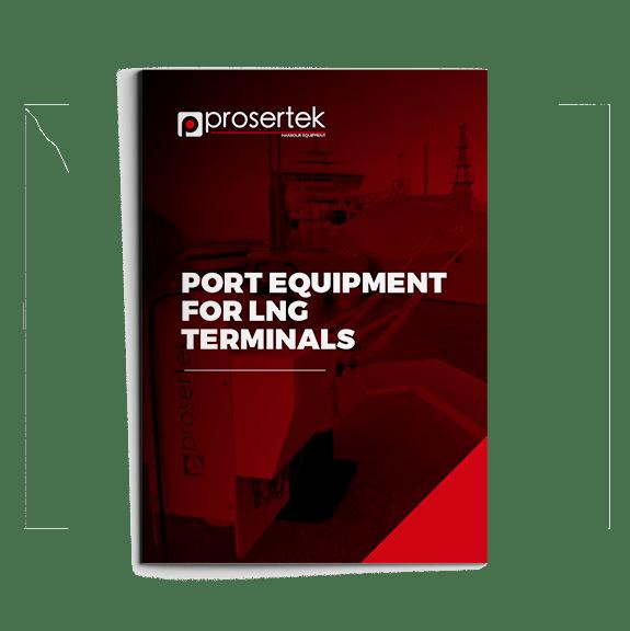 Port equipment for LNG terminals