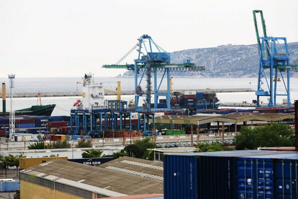 The Port of Marseille-Fos, once again with Prosertek fenders