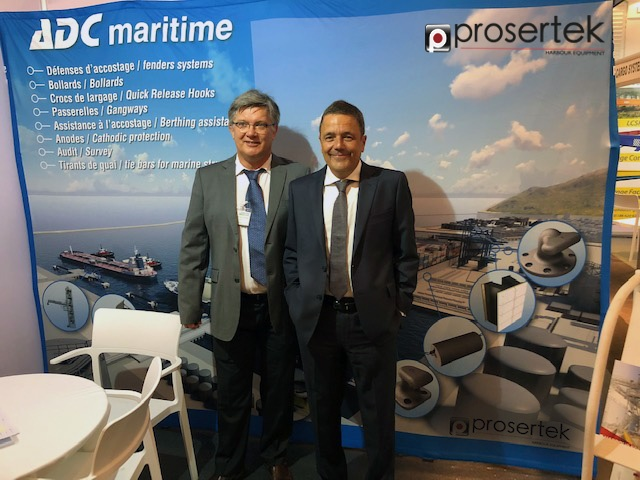 Prosertek y ADC Maritime en Mediterranean Ports & Shipping 2019