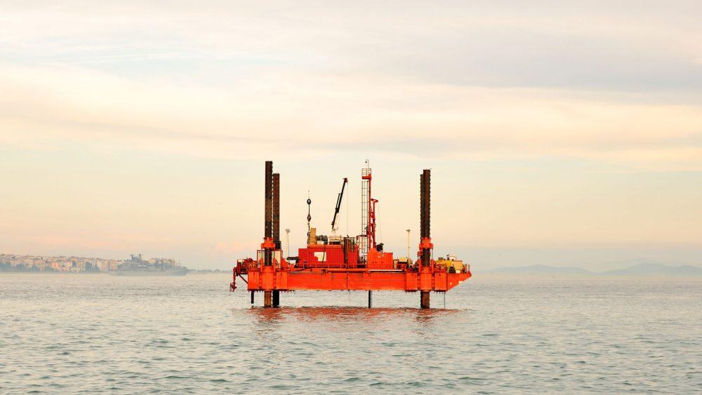 Oil platforms around the world