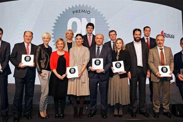 Prosertek recibe el premio ON Bizkaia al mejor proyecto de innovación