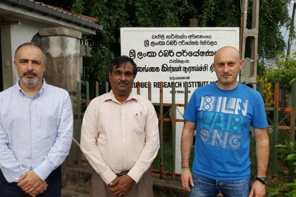Prosertek viaja a Sri Lanka, la cuna del caucho
