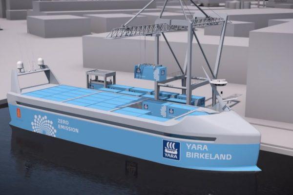 El primer barco 100% eléctrico y autónomo